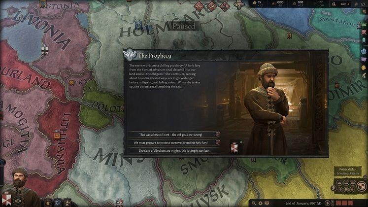 بهترین مدهای بازی Crusader King 3