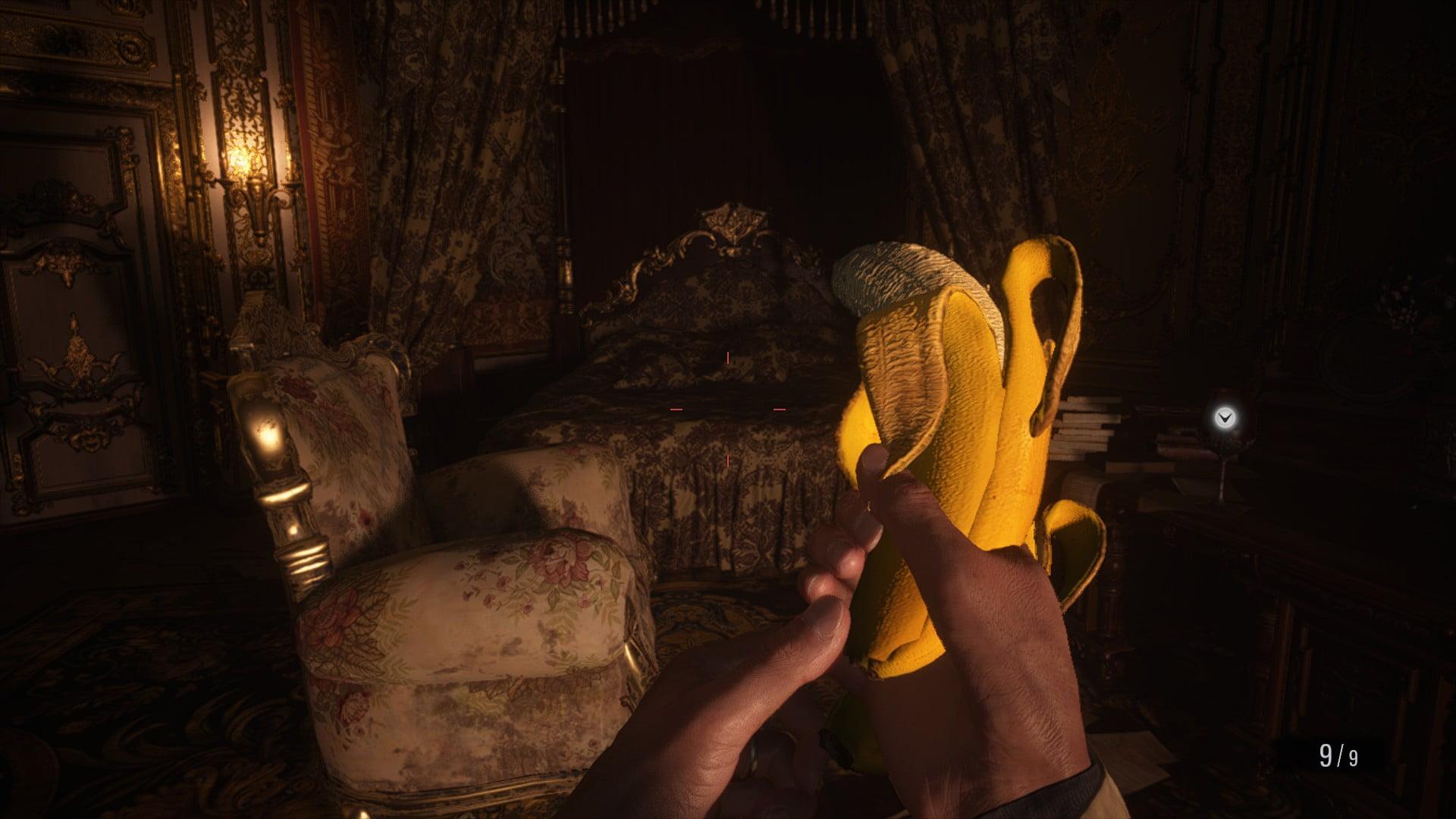 دانلود مد Banana Gun and Spoon Knife برای بازی Resident Evil Village