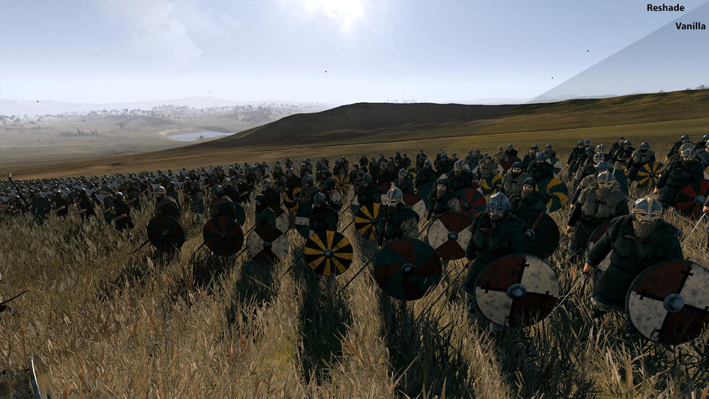 دانلود مد Wolf's Gritty Attila Reshade Preset برای بازی Total War: Attila