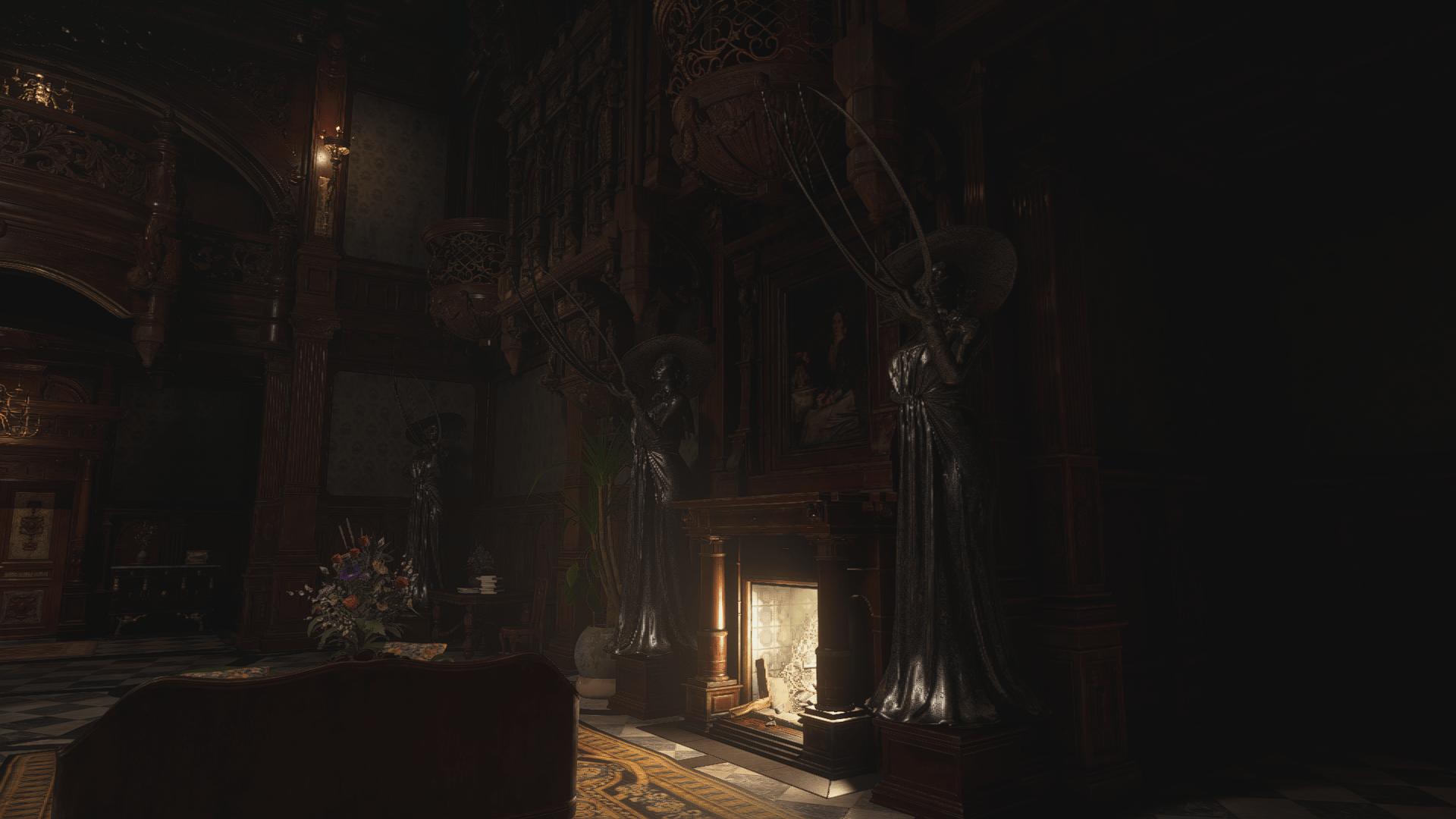 دانلود مد Replace the Armors with Alcina Dimitrescu برای بازی Resident Evil Village