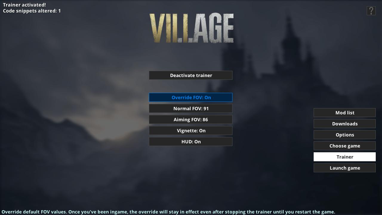 دانلود مد Fluffy Manager برای بازی Resident Evil Village