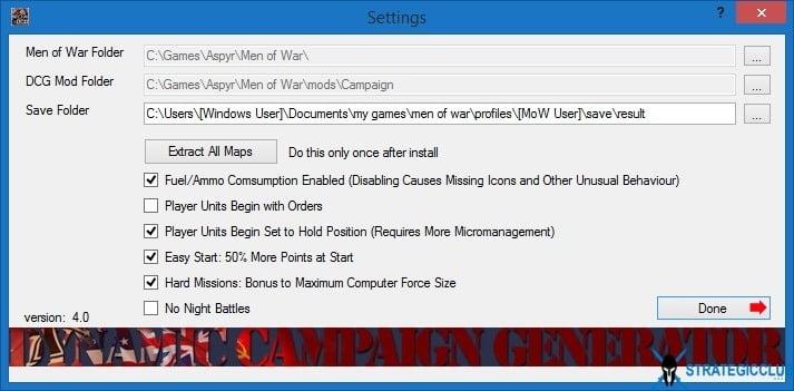 دانلود مد Dynamic Campaign Generator برای بازی Men of War: Assault Squad 1