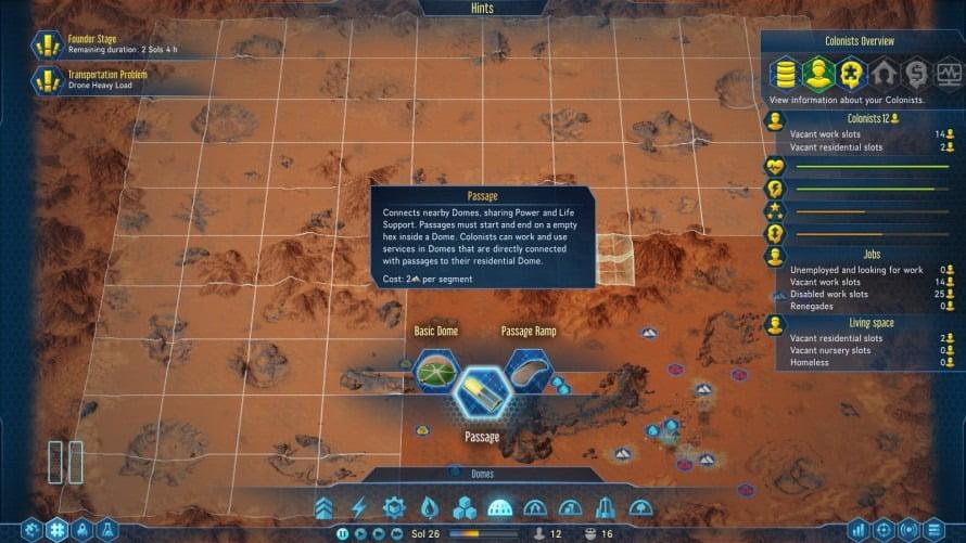 توسعه دهندگان اخیرا تونلها را به بازی اضافه کرده اند، بنابراین شما میتوانید گنبدهای خود را به یکدیگر متصل کنید.
