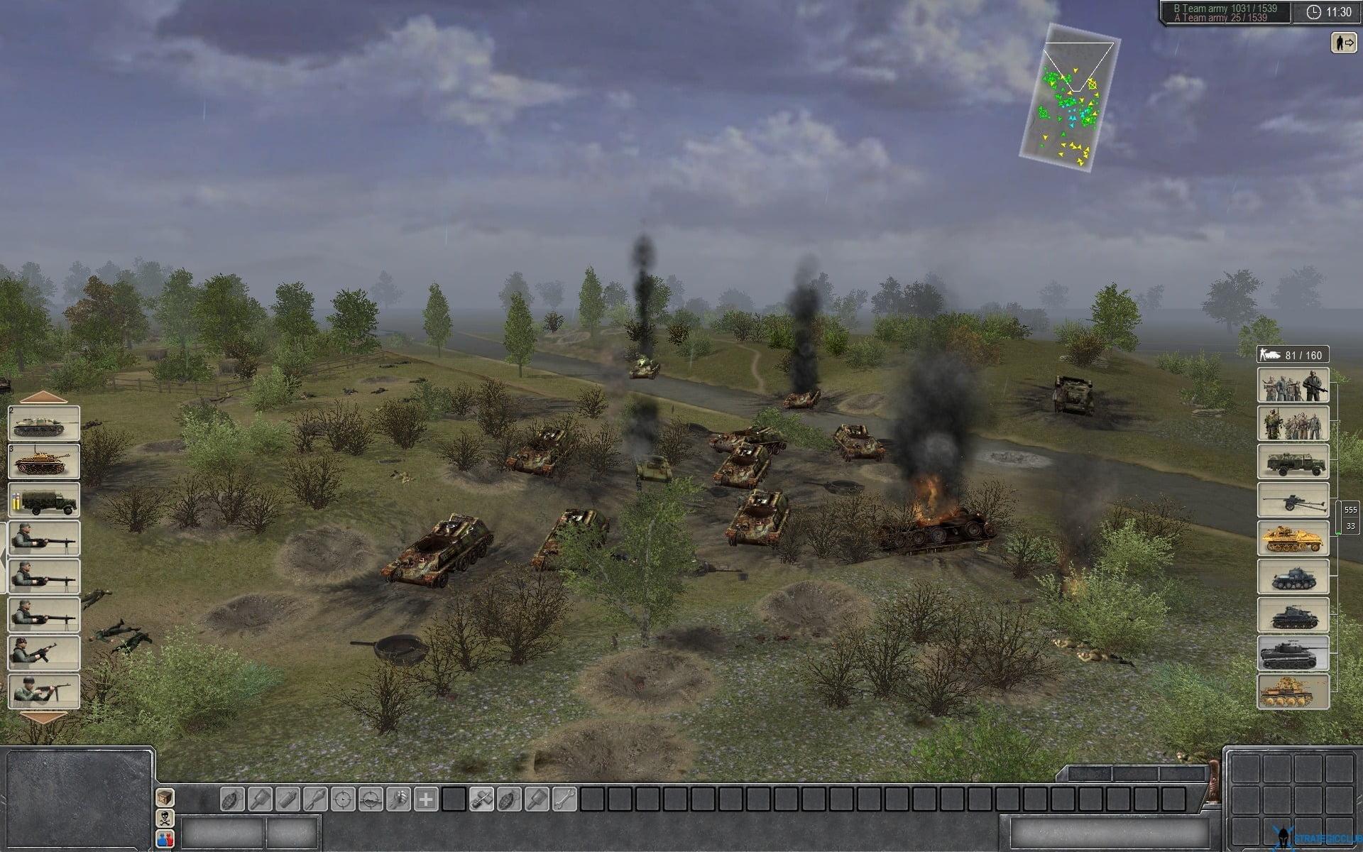 russian Tank wrecks