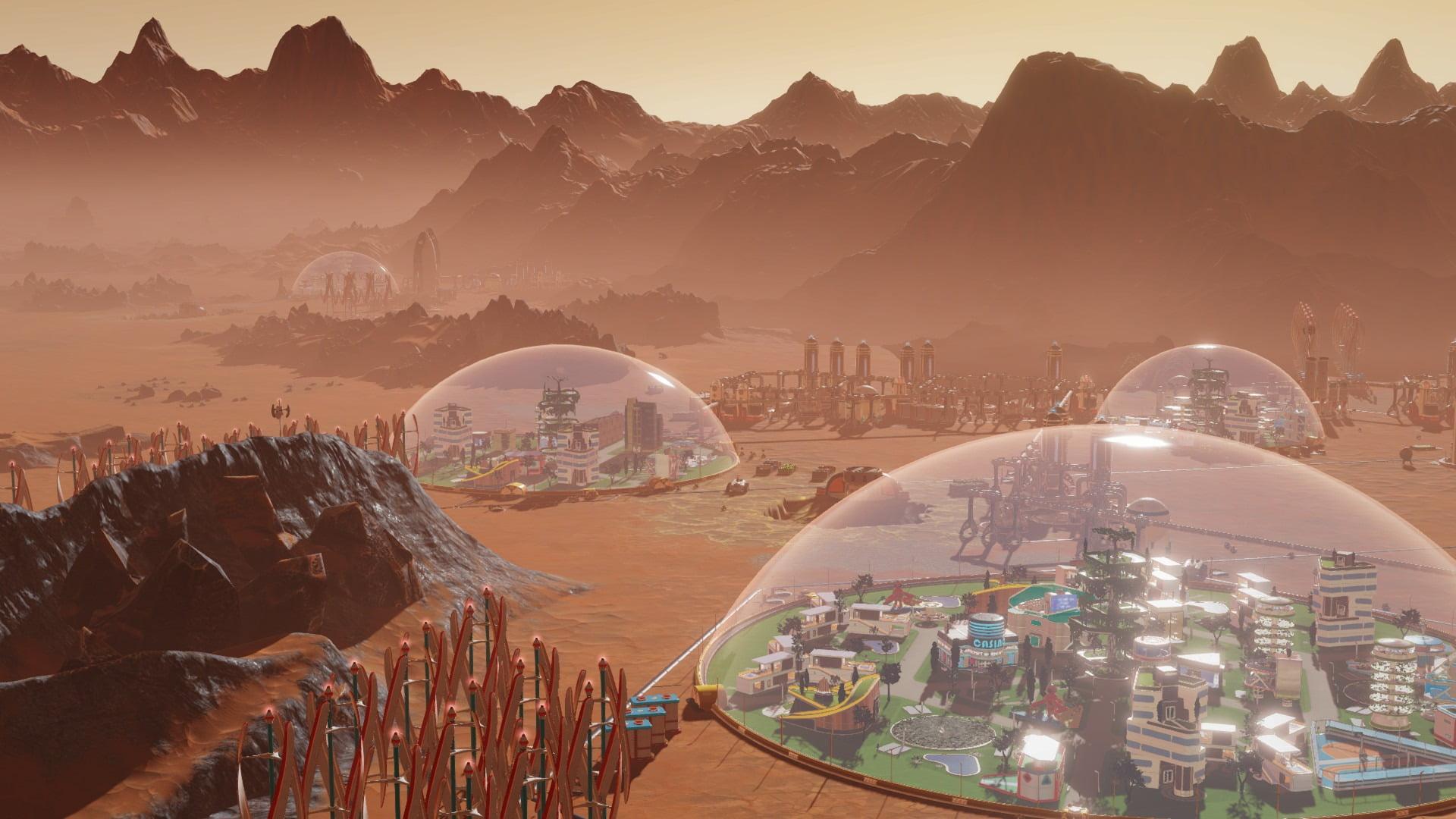 نقد و بررسی بازی Surviving Mars