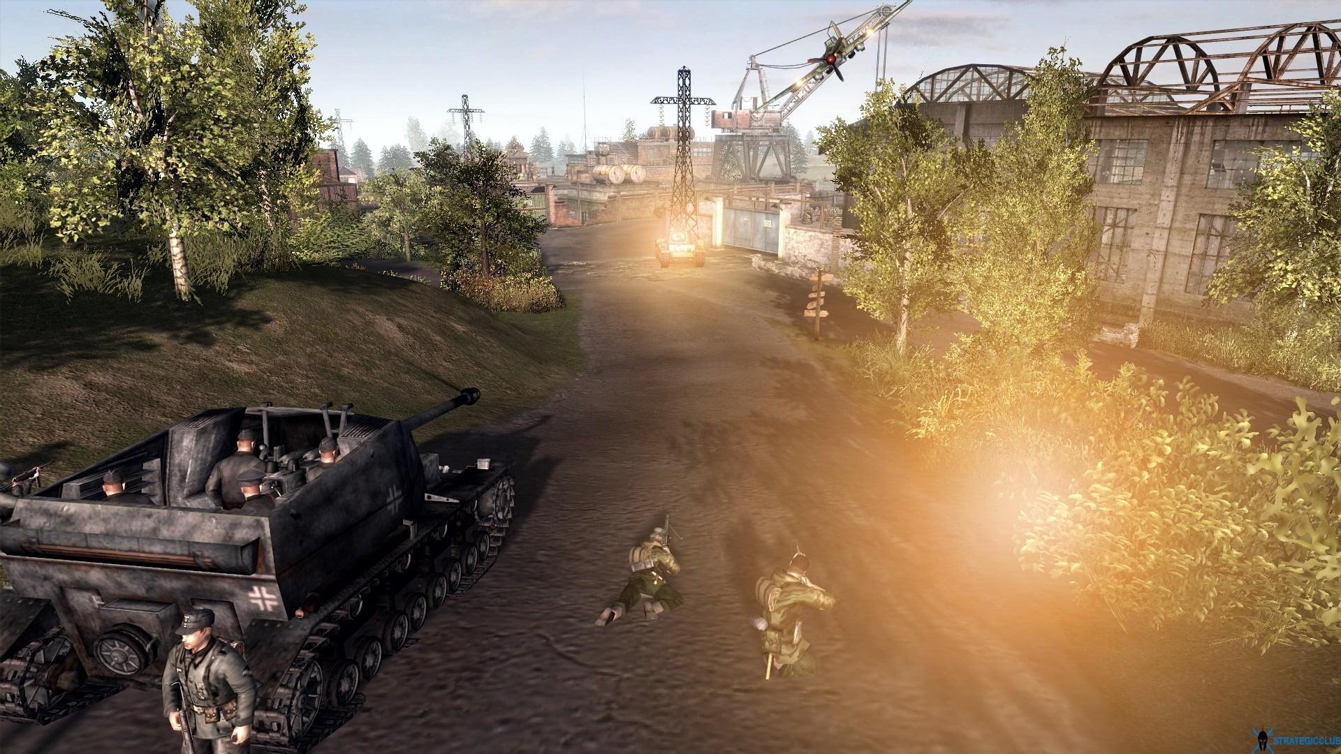 دانلود مد Sirhinkel's Missions برای بازی Men of War: Assault Squad 2