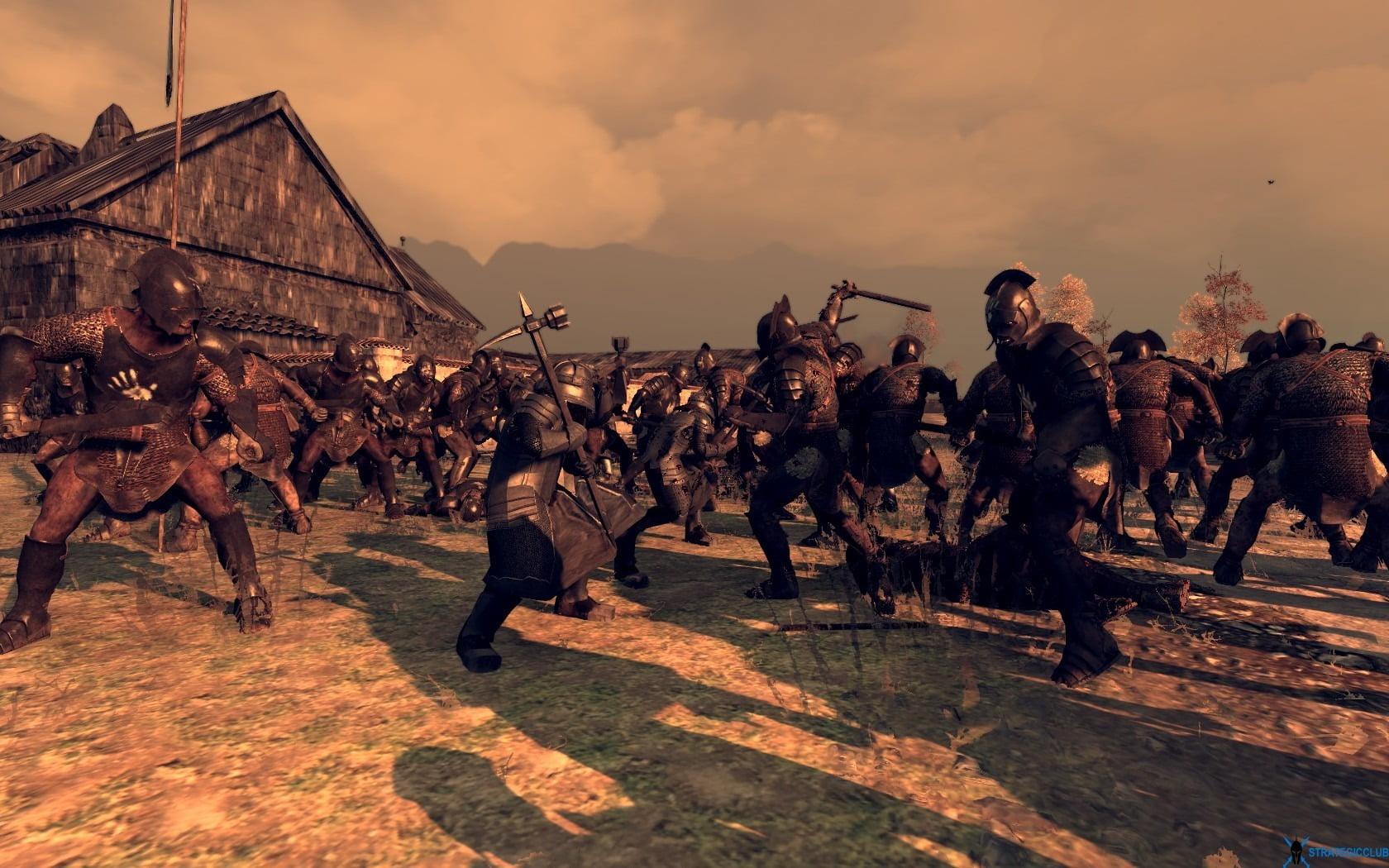 دانلود مد Rise of Mordor برای بازی Total War: Attila