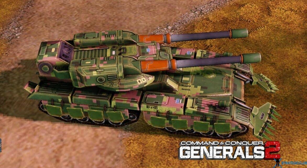 دانلود مد Command & Conquer: Generals 2 برای بازی Command & Conquer: Zero Hour