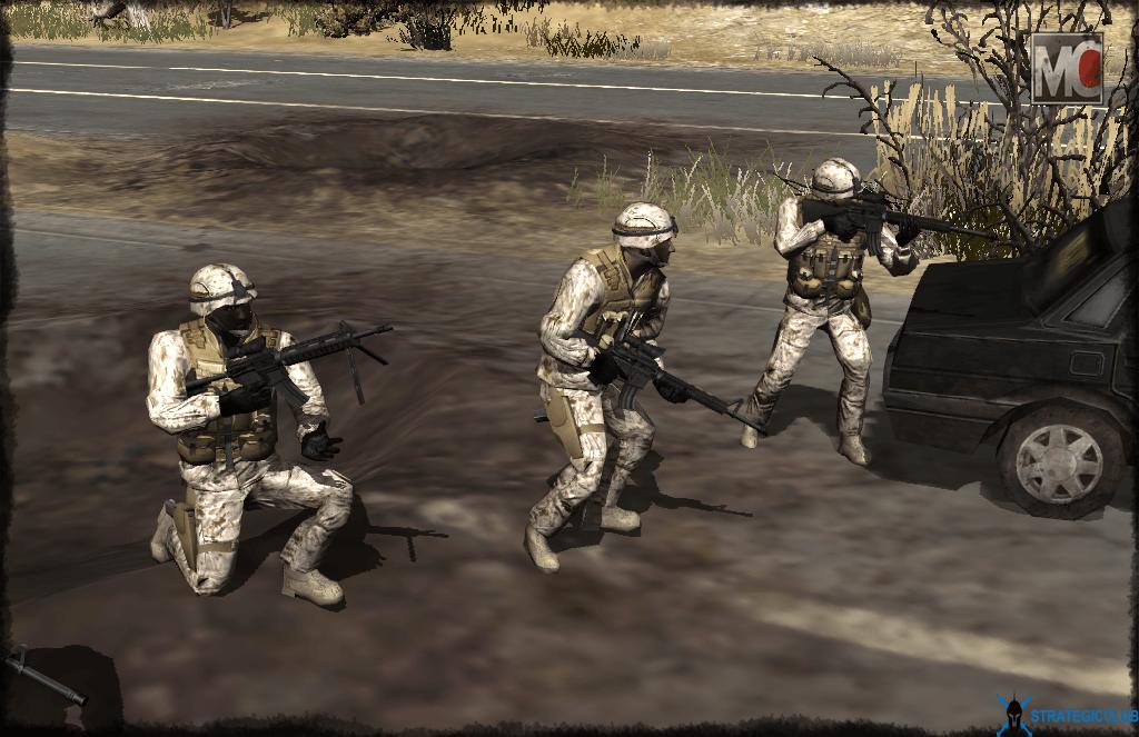 USMC Marine Fireteam