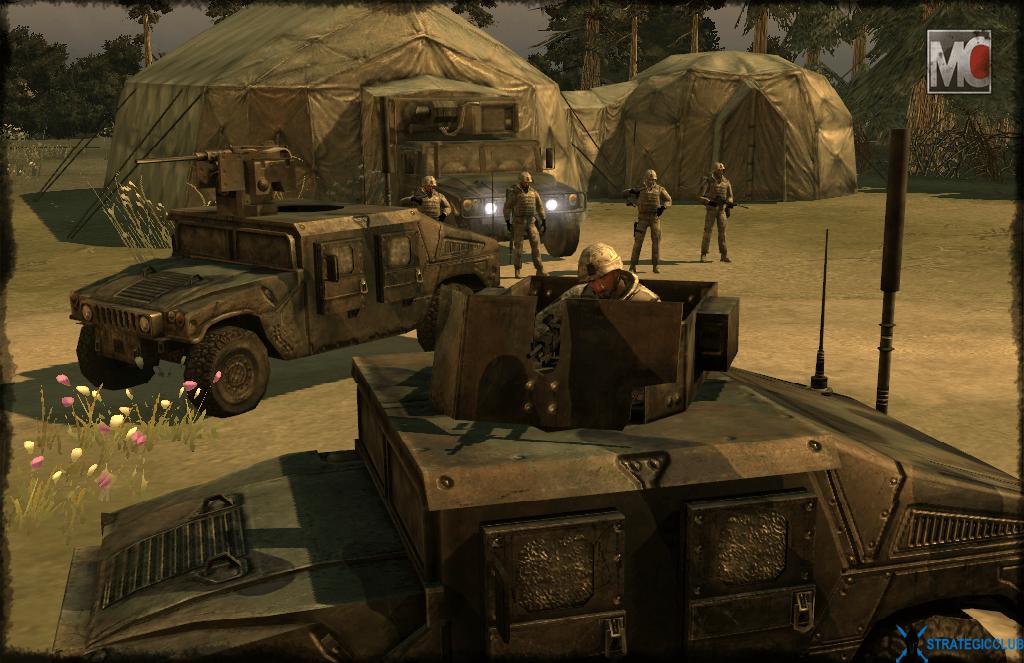 US Up Armoured Humvee