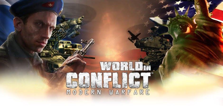 دانلود مد Modern Warfare برای بازی World in Conflict
