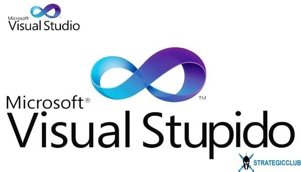 visual studio  logo prank