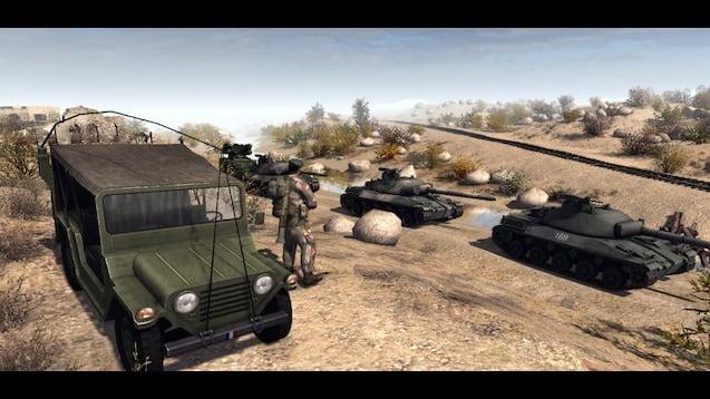 دانلود مد Red Frog برای بازی Men of War: Assault Squad 2