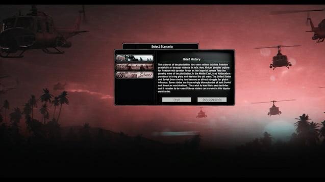 دانلود مد Cold War The Iron Curtain - A World Divided برای بازی Hearts Of Iron IV