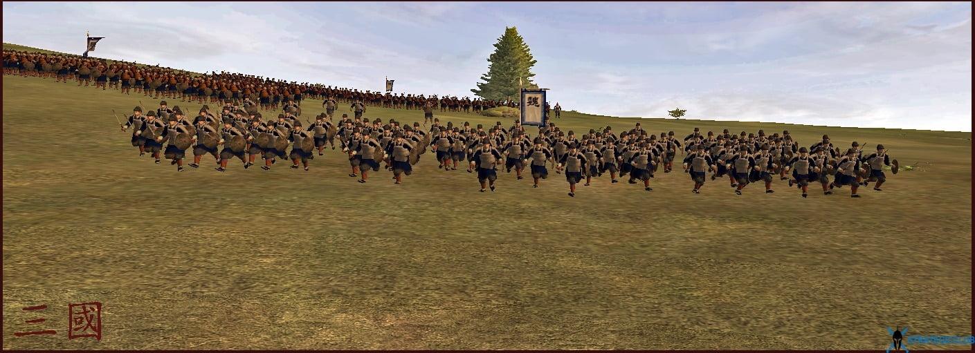 دانلود مد Rise of Three Kingdoms برای بازی Medieval II: Total War: Kingdoms