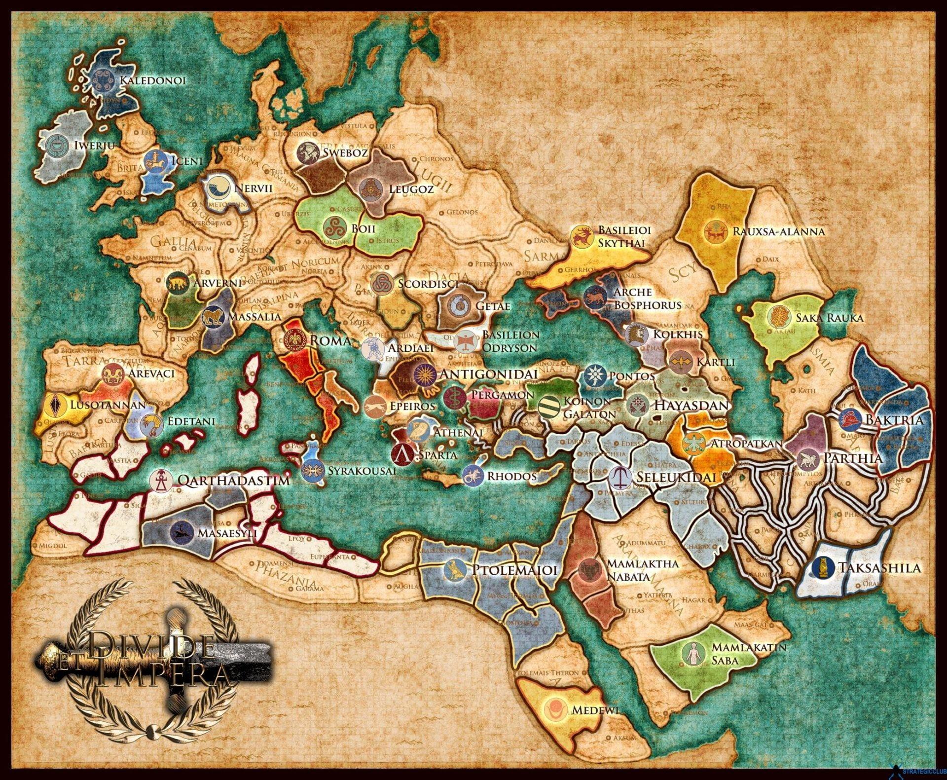 دانلود مد Divide et Impera برای بازی Total War: Rome II