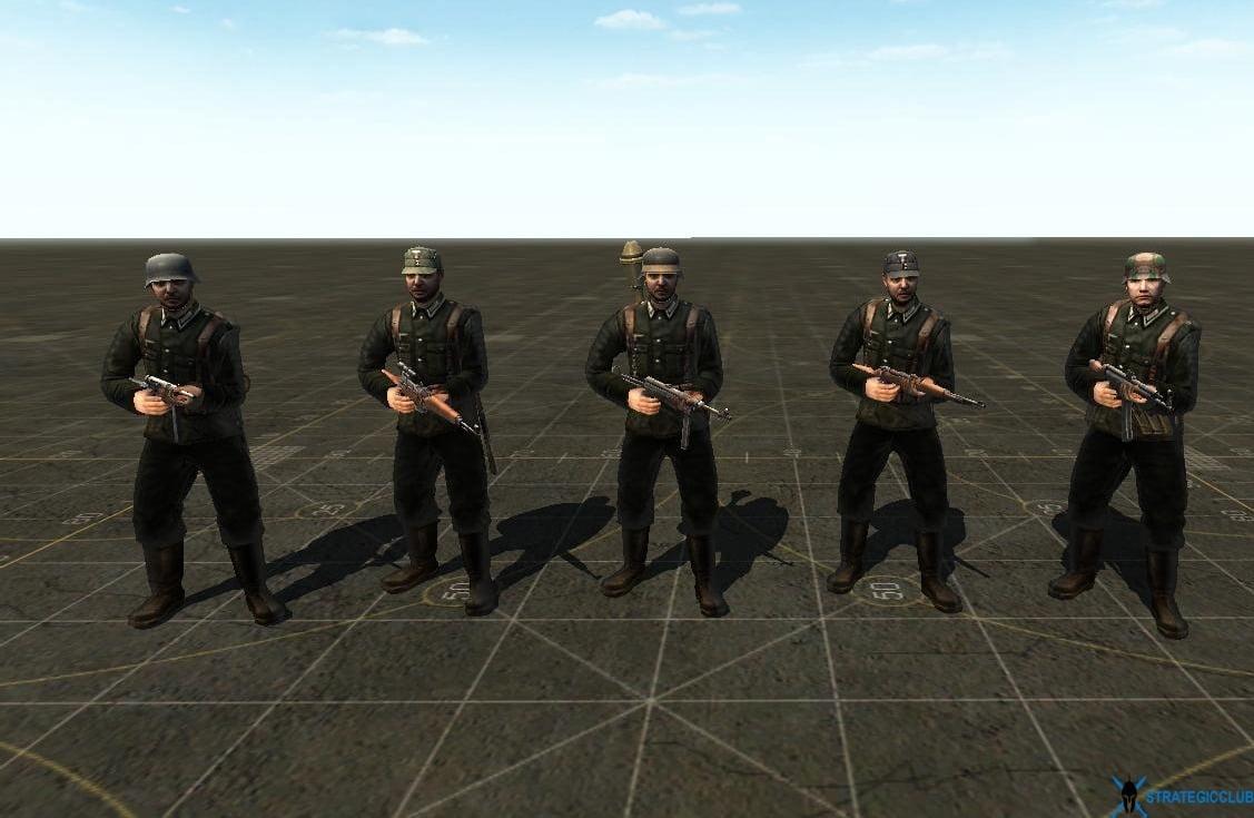 دانلود مد Battle Front Mod برای بازی Men of War: Assault Squad 1