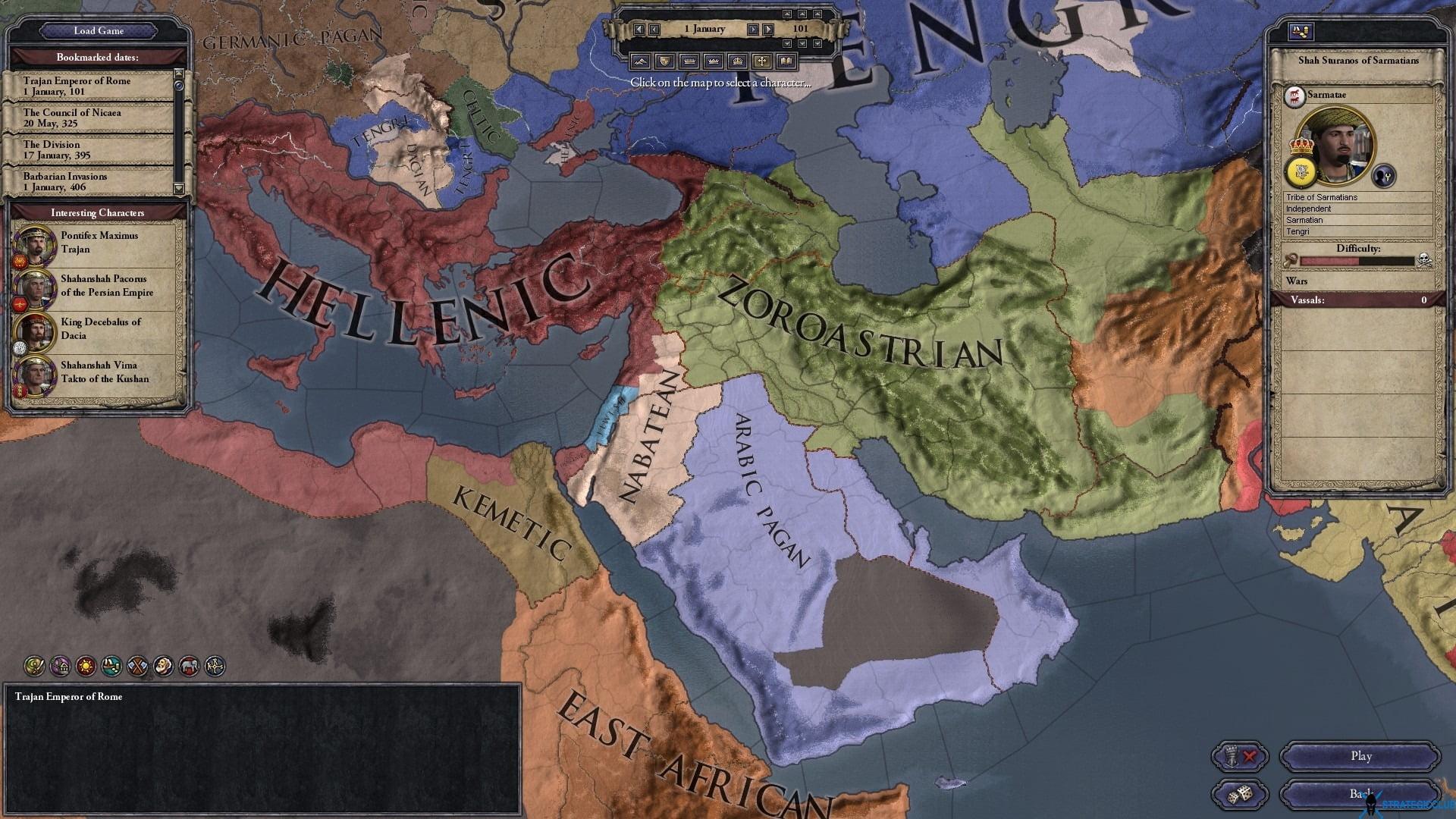 دانلود مد Rome and the Dark Ages برای بازی Crusader Kings II