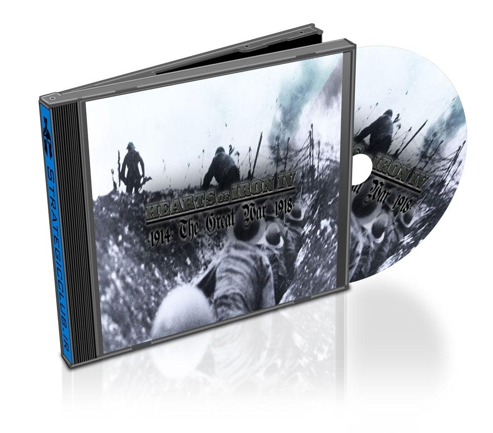 دانلود مد The Great War برای بازی Hearts of Iron IV