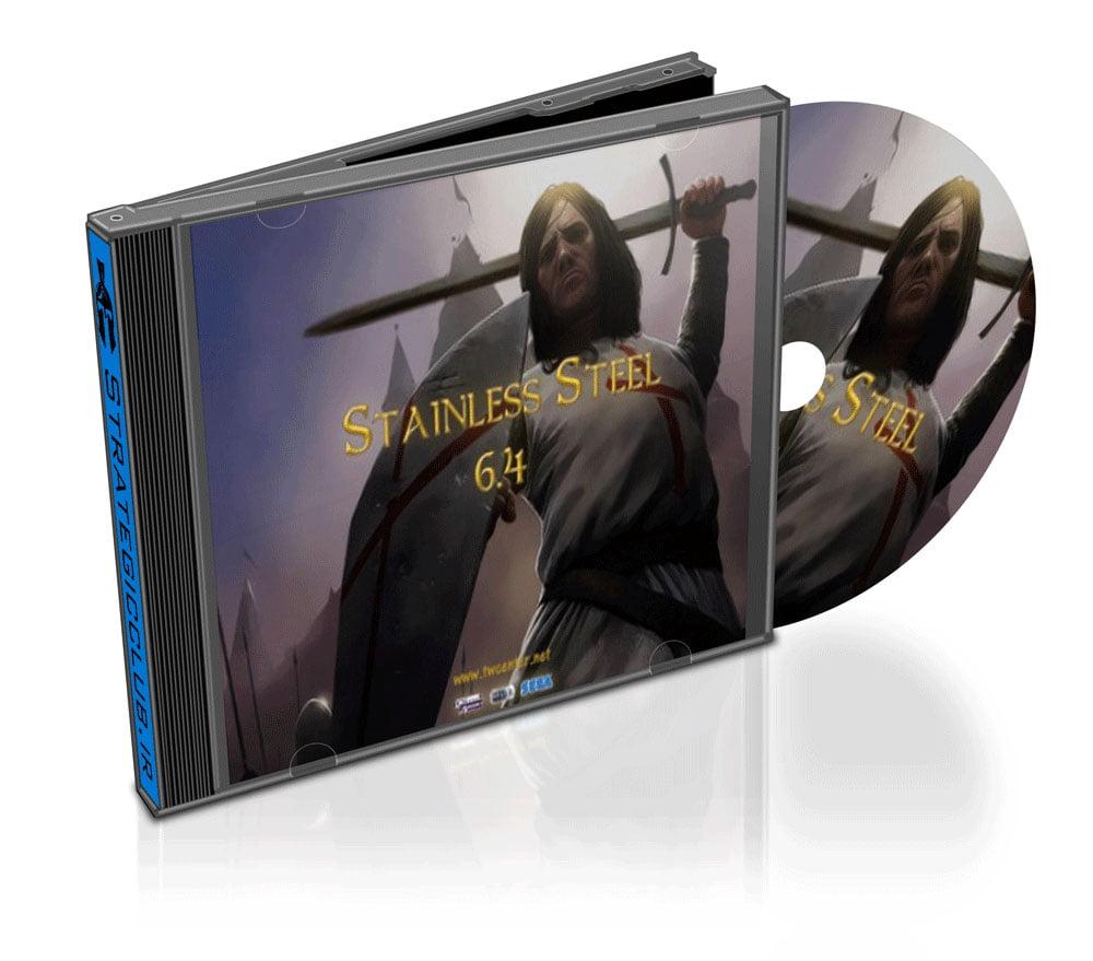 دانلود مد Stainless Steel برای بازی Medieval II: Total War: Kingdoms