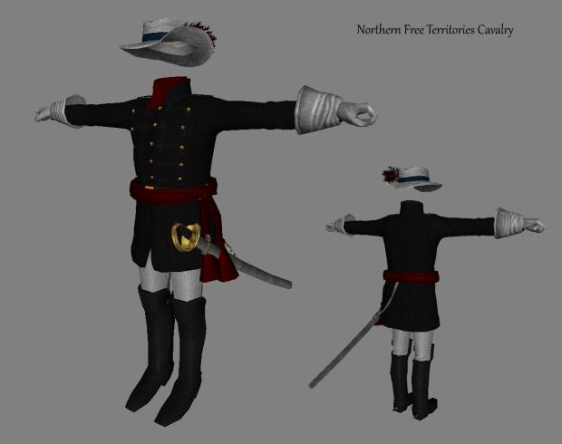 Northern Free Territories Cavalry Uniform