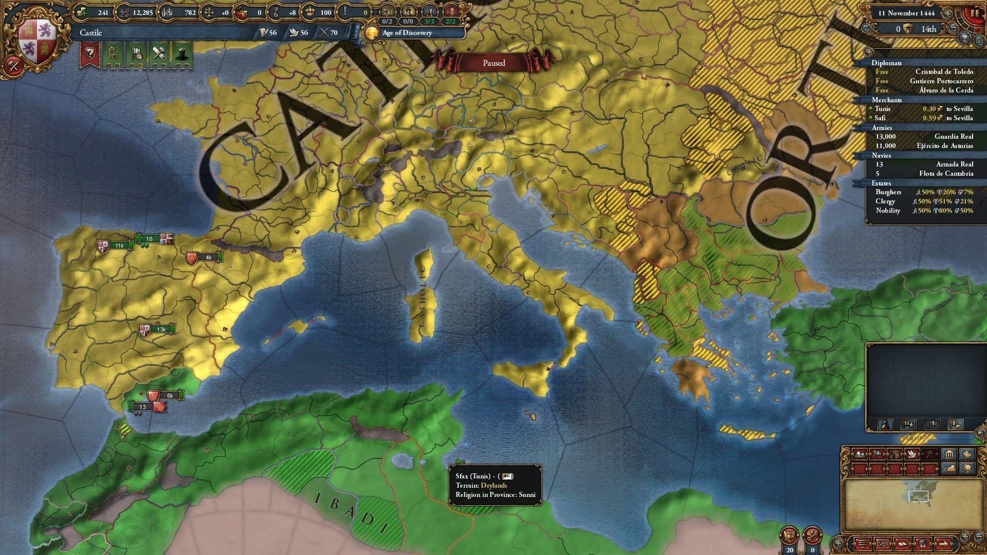 راهنما و آموزش جامع بازی Europa Universalis IV | قسمت 1&2