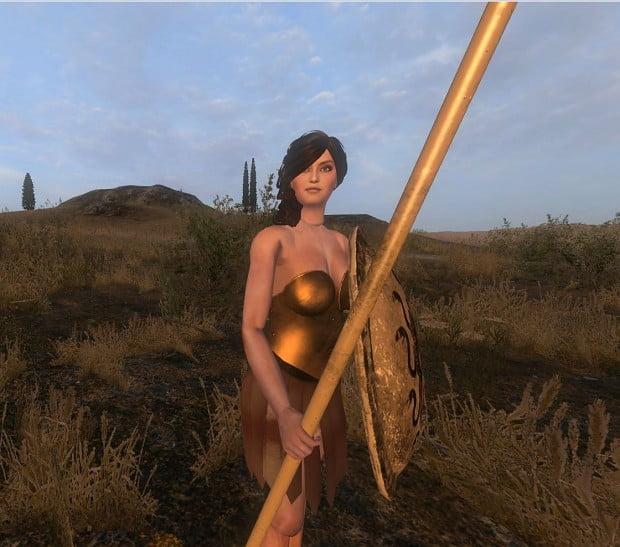 woman armour