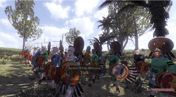 Aztec Elite Warriors