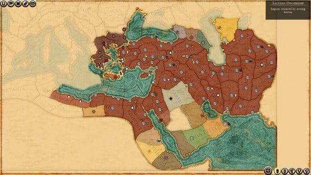 دانلود مد Alexander The Great Campaign برای بازی Total War: Rome II