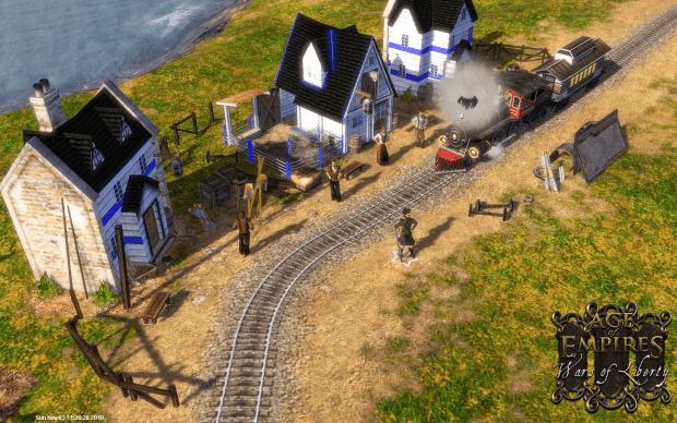 دانلود مد Wars of Liberty برای بازی Age of Empires III