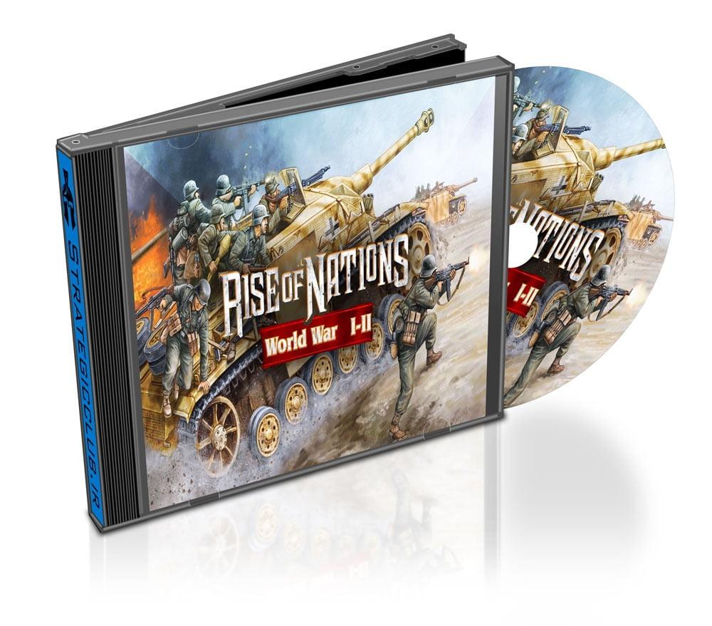 دانلود مد RoN WW I-II برای بازی Rise of Nations