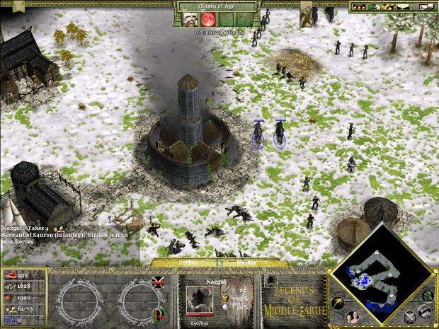 دانلود مد Legends of Middle-Earth برای بازی Age of Mythology: The Titans