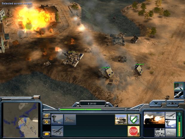 دانلود مد Act On Instinct برای بازی C&C: Generals Zero Hour