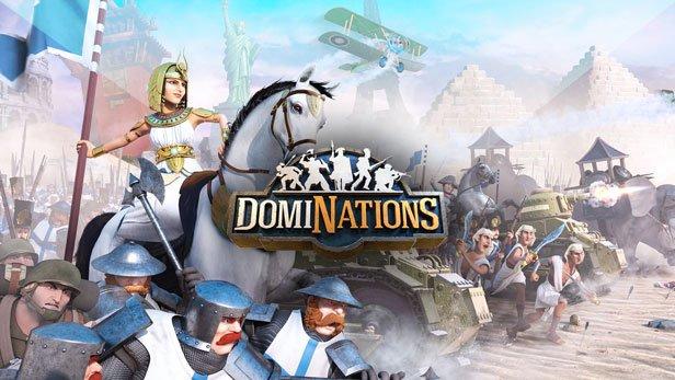 دانلود بازی موبایل DomiNations