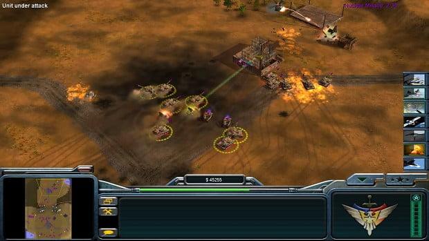 دانلود مد Atlas برای بازی C&C: Generals Zero Hour