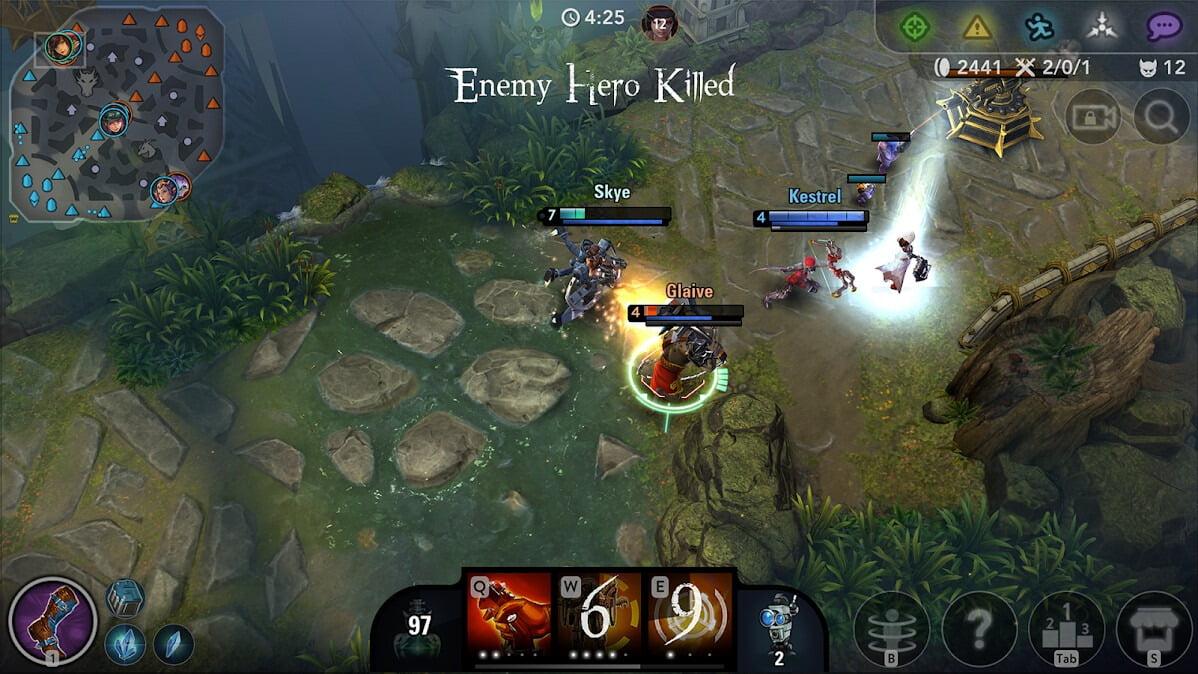 دانلود بازی موبایل Vainglory