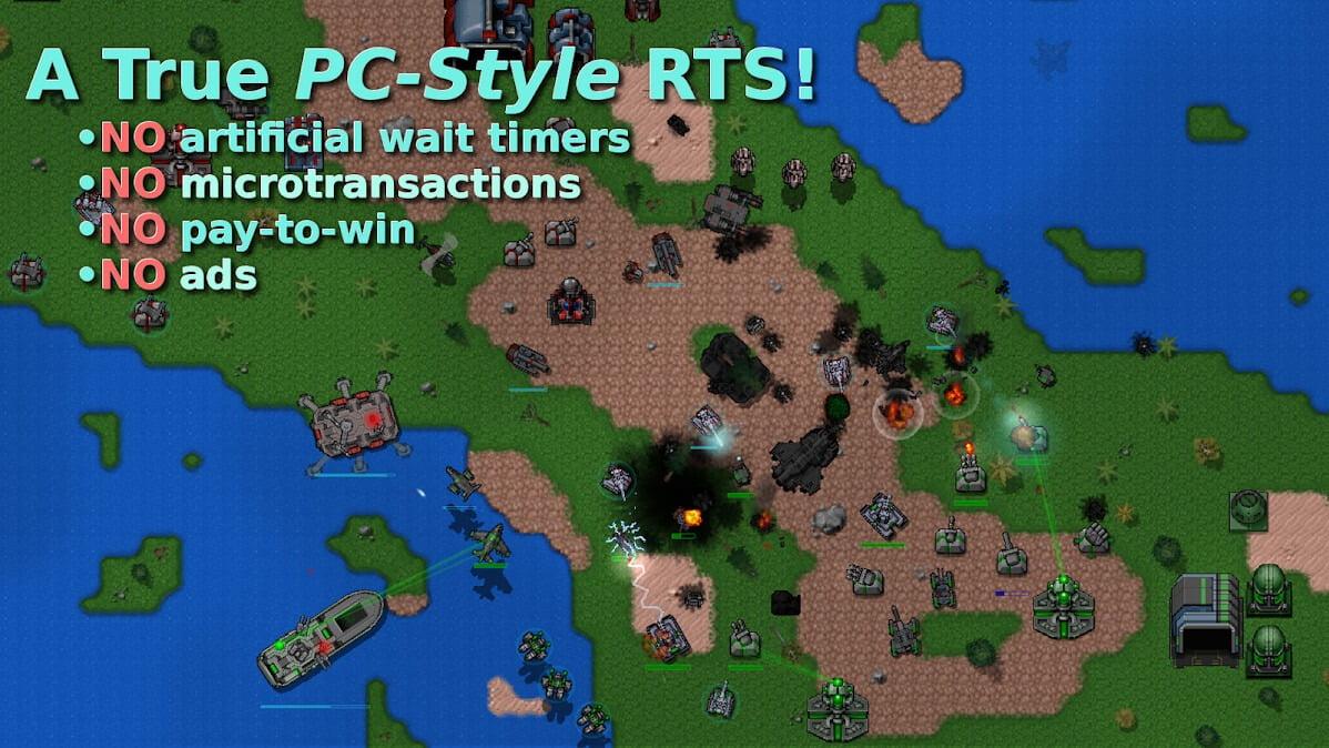 دانلود بازی موبایل Rusted Warfare