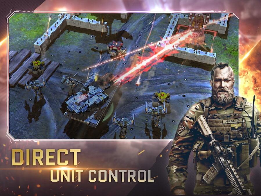 دانلود بازی موبایل War Commander: Rogue Assault
