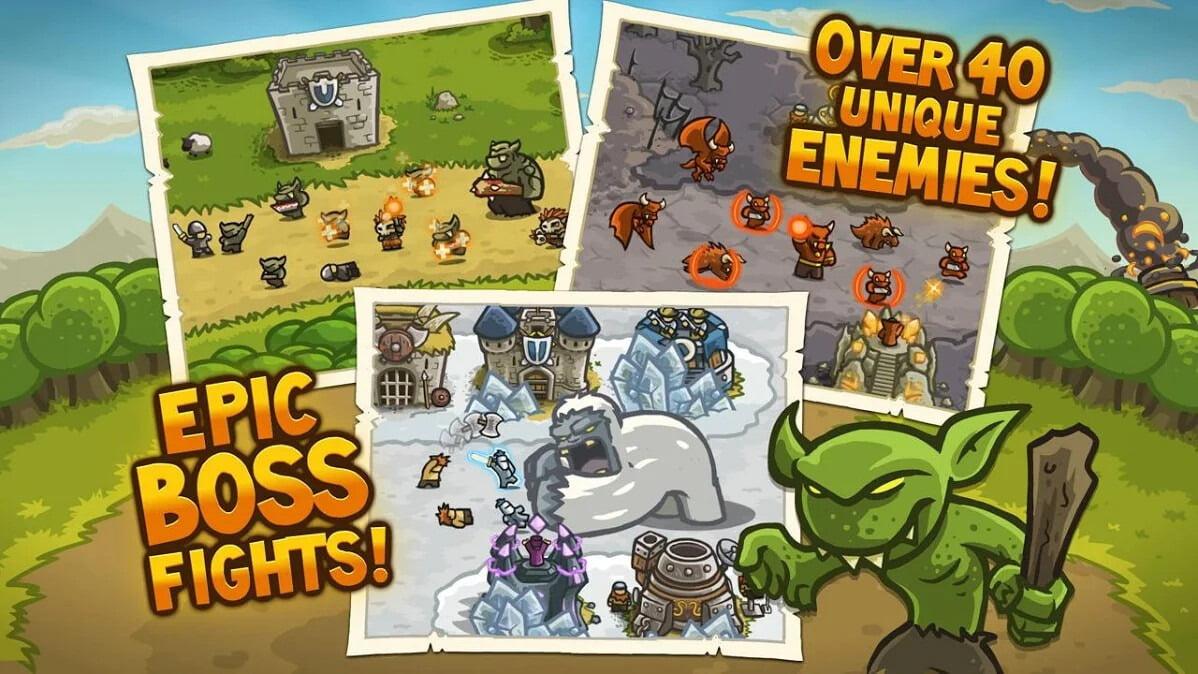 دانلود بازی موبایل Kingdom Rush