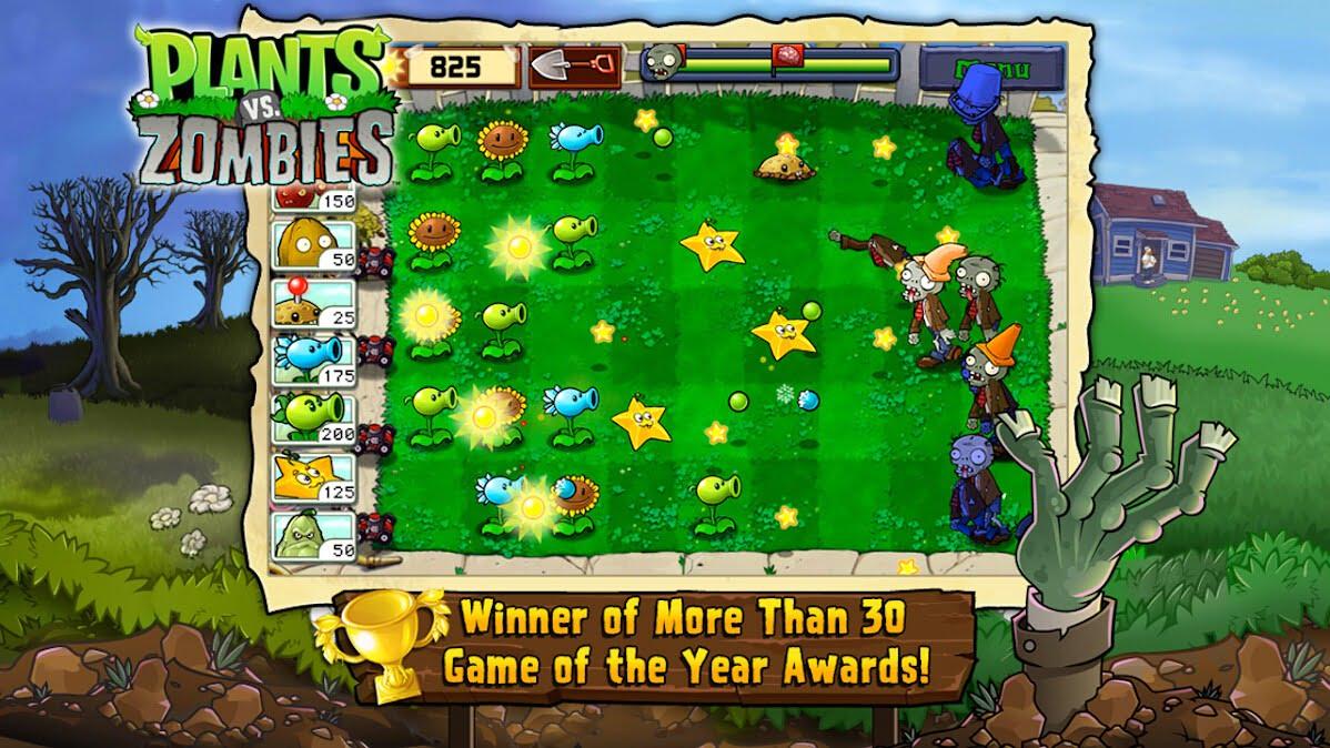 دانلود بازی موبایل Plants vs Zombies