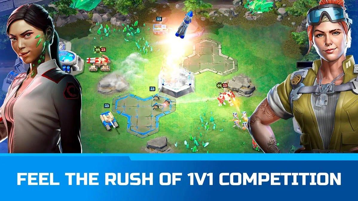 دانلود بازی موبایل Command & Conquer: Rivals