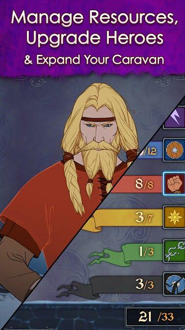 دانلود بازی موبایل The Banner Saga