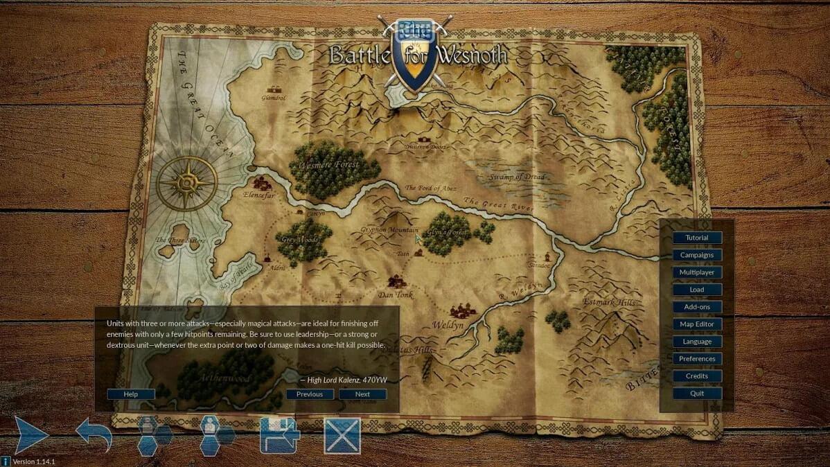 دانلود بازی موبایل The Battle for Wesnoth
