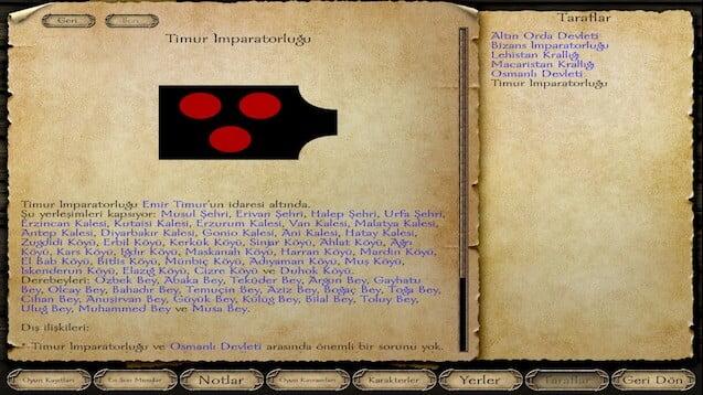 دانلود مد Buhran 1400 برای بازی Mount and Blade