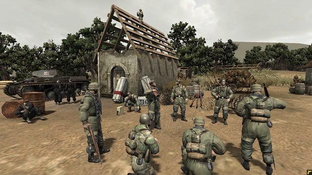 دانلود مد Battle of Crete برای بازی Company of Heroes: Opposing Fronts