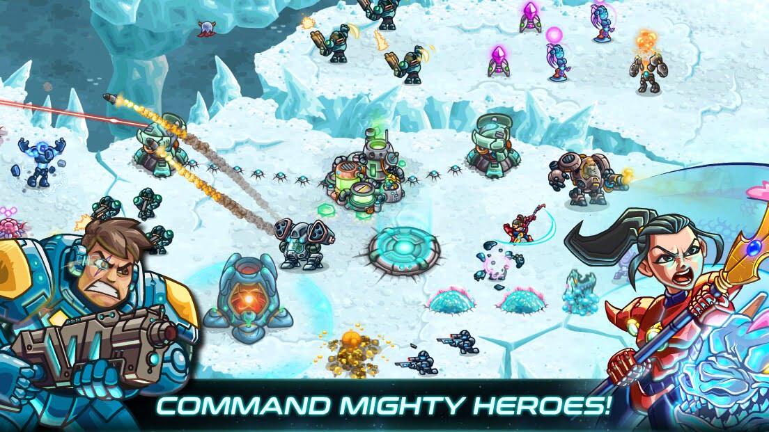 دانلود بازی موبایل Iron Marines