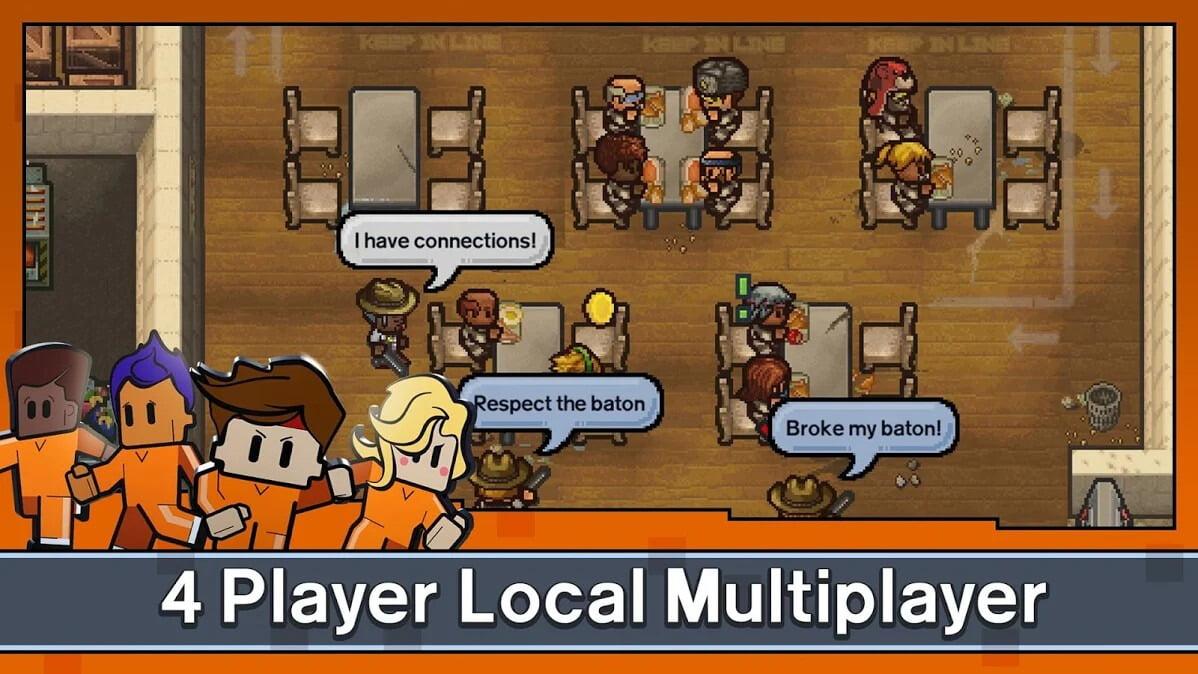 دانلود بازی موبایل The Escapists 2: Pocket Breakout