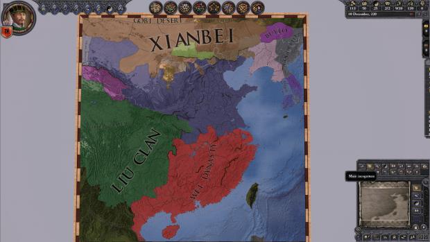 دانلود مد Romance of the Three Kingdoms برای بازی Crusader Kings II
