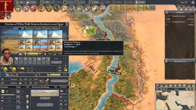 دانلود مد The Bronze Age برای بازی Imperator: Rome