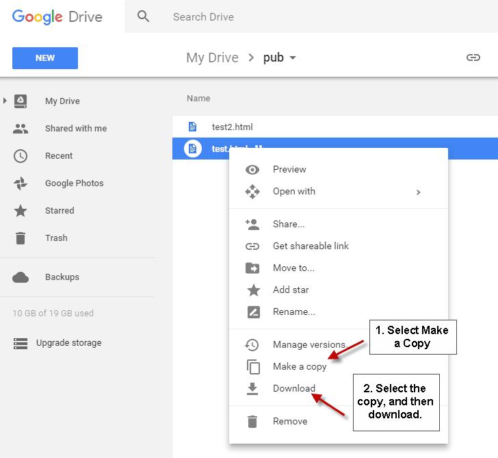 آموزش دانلود از گوگل درایو
